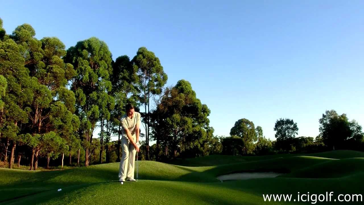 cours de golf avec icigolf pitch run youtube