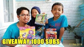 Giveaway Aiman dan Aira 1000 SUBSCRIBER