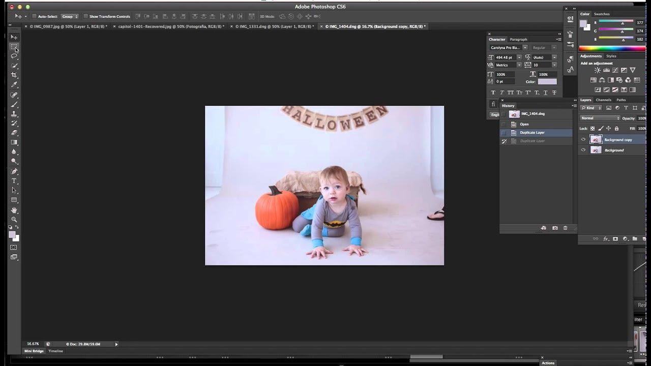 Aprender a editar fotos en photoshop cs6 61