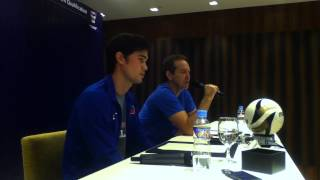 FIFA WCQ / AFC ACQ Pre-Match Press Conference - the Philippines vs Uzbekistan