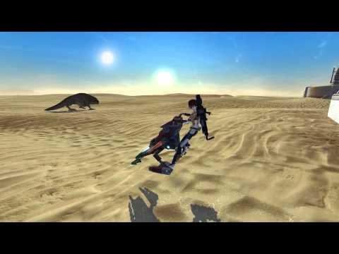 Ubrikkian Striker Speeder Mount In Star wars The Old Republic (swtor)