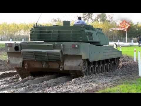 NEW TURKISH TANK ALTAY DRIVING TEST klip izle