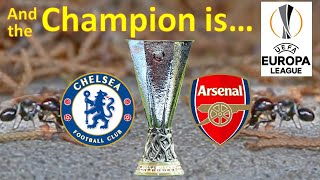 Europa League Final 2019 | Chelsea vs Arsenal | Baku Olympic Stadium - Azerbaijan (predictions)