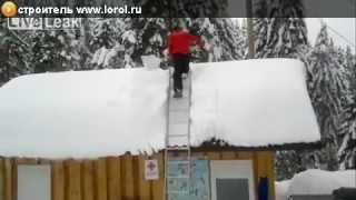 Очистки снега своими руками