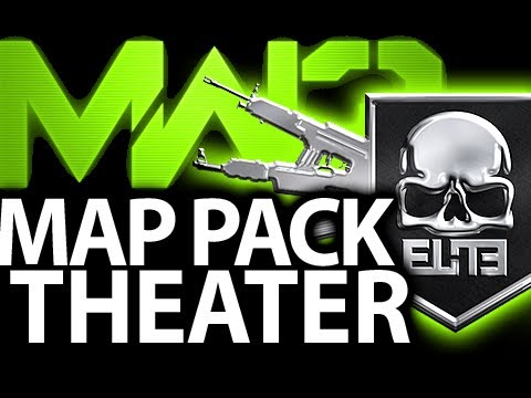 Beauty and Destruction of Piazza MW3 New Map Pack Collection 1 DLC Gameplay Modern Warfare 3