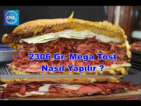 2306 Gr. Mega Tost Nasıl Yapılır ?