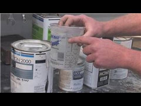 Acrylic Automotive Paint Mixing Ratio