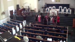 lovewingsministries kids    Worship at St Mark Missionary Baptist Church Fort Pierce fl 9 21 14