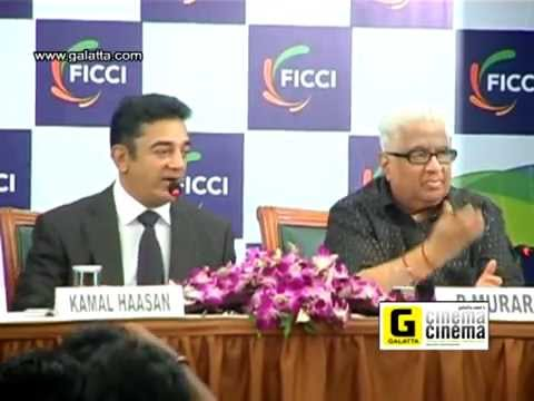 Dr Kamal Haasan at FICCI Press Conference Part 2
