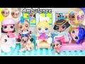 JOJO Siwa Unicorn LOL Surprise Doll Ambulance Visit Hospital + Doctor Pharaoh Punk, Peppa Pig Toy MP3