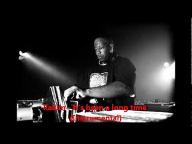 Rakim - It39s been a long time Instrumental