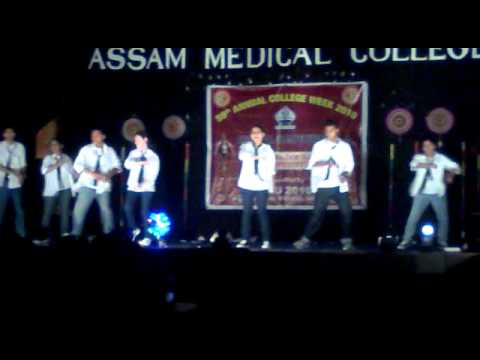 Sushobhan-Assam Medical College Inter Batch Dance Champ 2010...