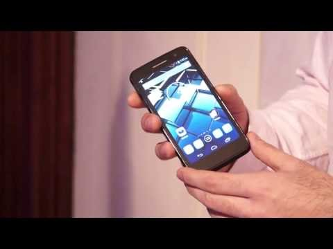 Panasonic P51 Quad Core Android Phone, Hands On Review at Launch - iGyaan