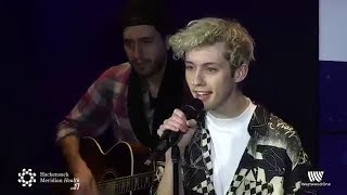 "Download Lagu Troye Sivan - ""The Good Side"" Acoustic Live #HMHStage17 Gratis STAFABAND"