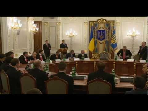 ХК Донбасс в гостях у Президента Украины