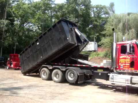 Semi Trucks For Sale In Nc >> Hooklift Trucks for sale Complete Package Princeton Forklift the Flat Bed Truck - YouTube