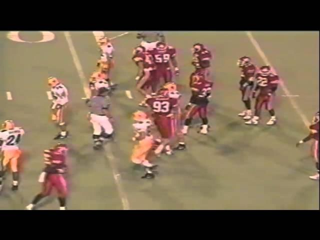 Oregon QB Danny O'neil 15 yard run vs. Utah 9-21-1991