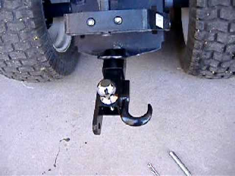 3 Way Hitch For Atv S And Garden Tractors Youtube