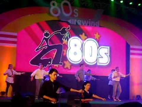 Header of 80's Rewind