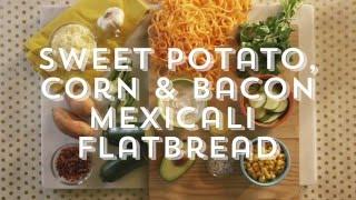 Houlihan's + Inspiralized Mexicali Flatbread