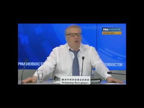 Драки Жириновского в прямом эфире