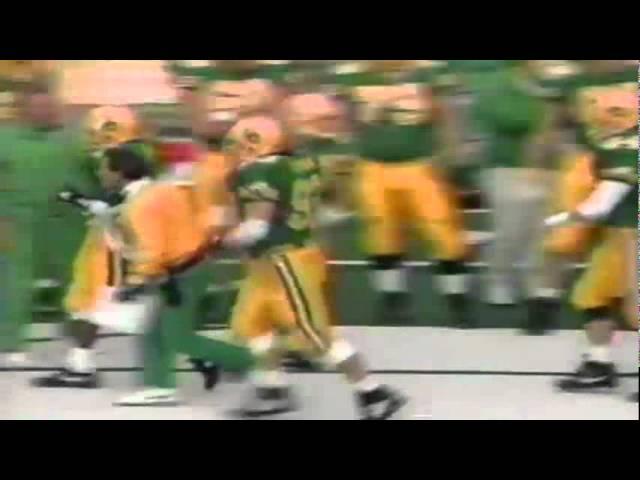 Oregon Cb Muhammad Oliver downs punt at 2 yard line vs. Stanford 11-02-91