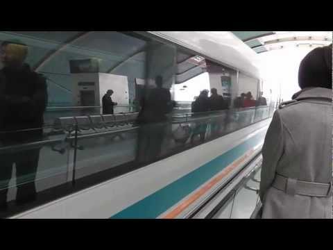 Awesome Maglev Train - Shanghai Pudong Airport - Longyang Road Station, China