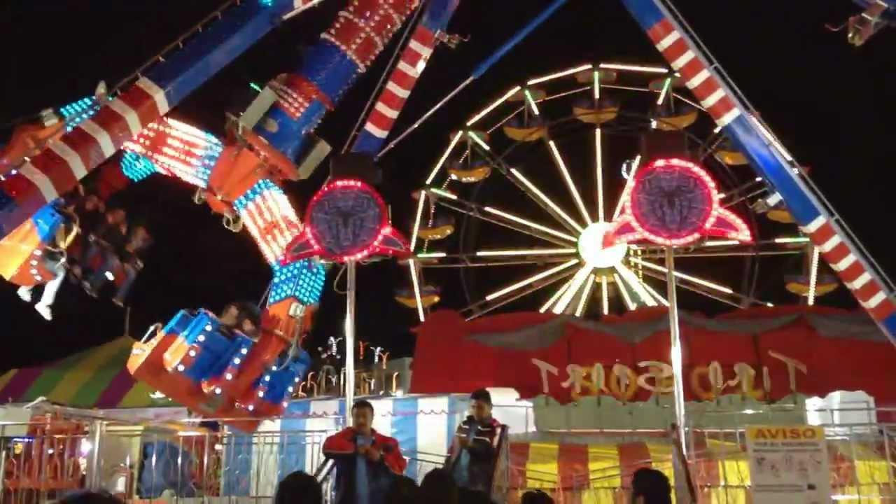Spider Feria Estatal De Leon Tiga Youtube