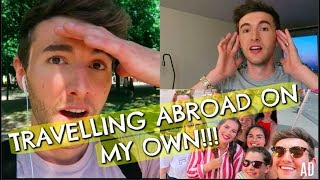 TRAVELLING ABROAD ALONE CHALLENGE! (WHAT HAPPENED) AD