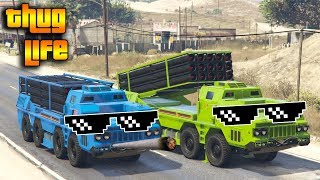 GTA 5 ONLINE : THUG LIFE AND FUNNY MOMENTS (WINS, STUNTS AND FAILS #12)