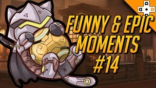 Overwatch FUNNY & EPIC Moments #14 - Highlights Montage