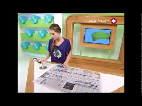 Persiana de papel periodico