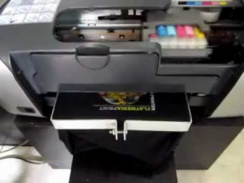 Mesin sablon kaos digital - Printer DTG Epson R230 CMYKWW (light/dark t-shirt)