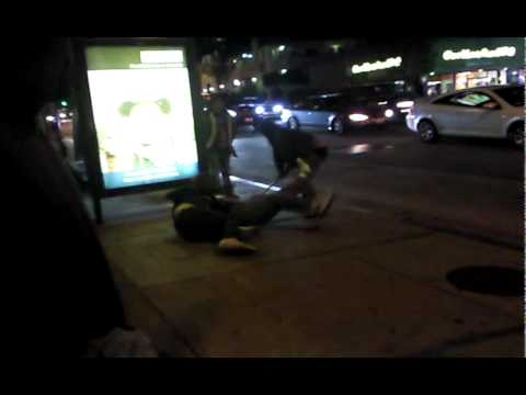312 Bus Stop Street Fight