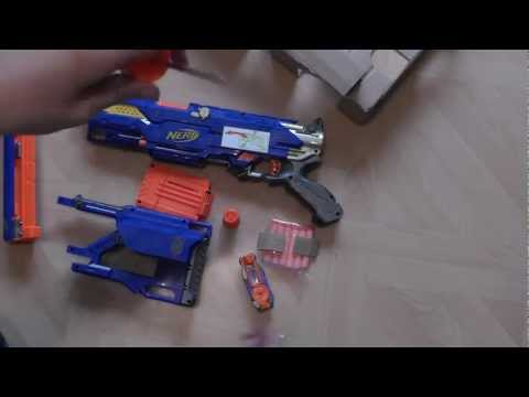 NERF Longstrike CS-6 Unboxing and Review