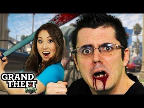 PRISON YARD BEAT DOWN (Grand Theft Smosh)