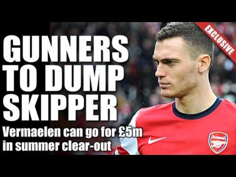 Arsenal Willing to Sell Thomas Vermaelen Just for
