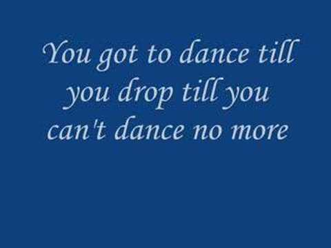 B3 never gonna stop lyrics for 1234 get your booty on the dance floor lyrics
