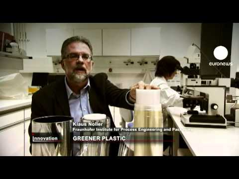 euronews innovation - New green plastic made from milk curd