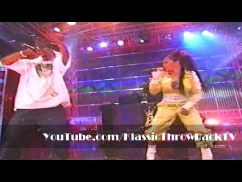 Lil' Kim & Mr. Cheeks - the Jump Off Live (2003) video