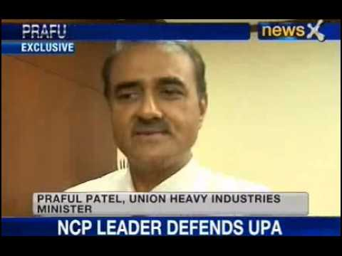 News X : Union Minister Praful Patel Exclusive
