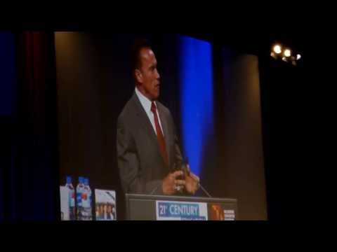 21st Financial Summit, Melbourne Australia: Arnold Schwarzenegger. 14 6 13