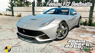 GTA 5 Crash test - Ferrari F12 Berlinetta
