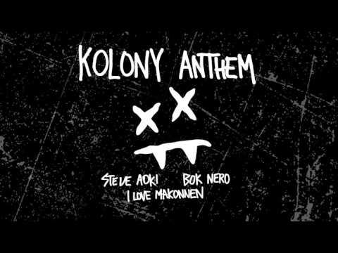 Steve Aoki - Kolony Anthem feat. iLoveMakonnen & Bok Nero (Cover Art) [Ultra Music]
