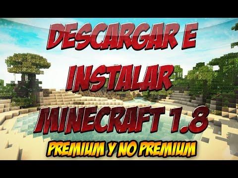 DESCARGAR MINECRAFT 1.8.2/1.8.1/1.8 NO PREMIUM PIRATA - NUEVA ACTUALIZACIÓN 1.8.1/1.8