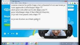 telecharger et installer skype