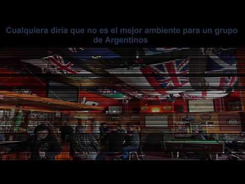 Argentinos en la Globe Tavern. Islas Malvinas