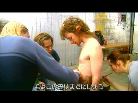 Making of Mr.Tumnus(from Japanese DVD)