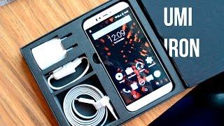 UMi Iron: распаковка цельнометаллического смартфона. Посылка из Китая от производителя.