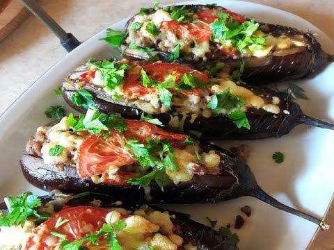 Фаршированные баклажаны по-турецки в духовке